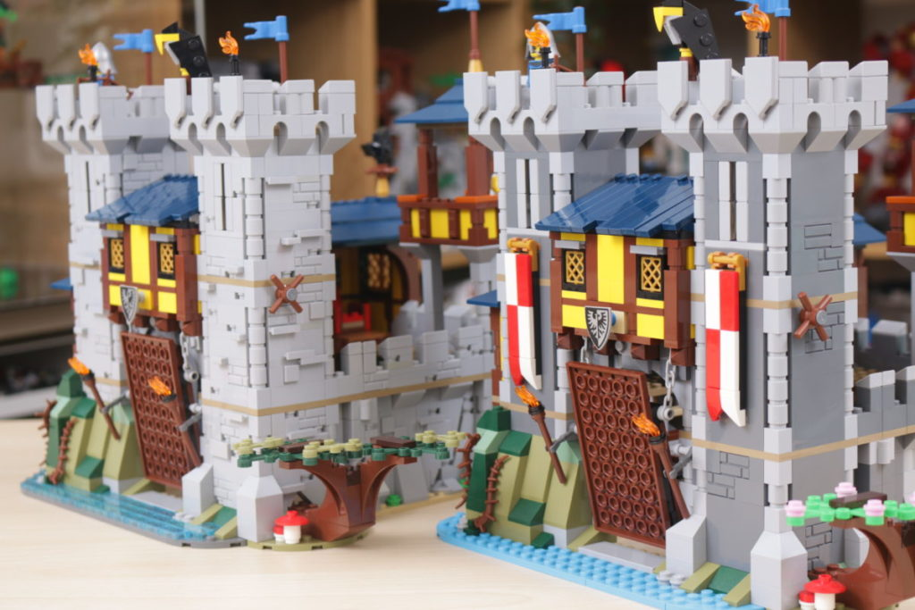 How to improve LEGO Creator 3 in 1 31120 Medieval Castle 48