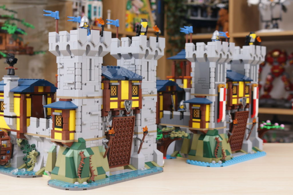 How to improve LEGO Creator 3 in 1 31120 Medieval Castle 49