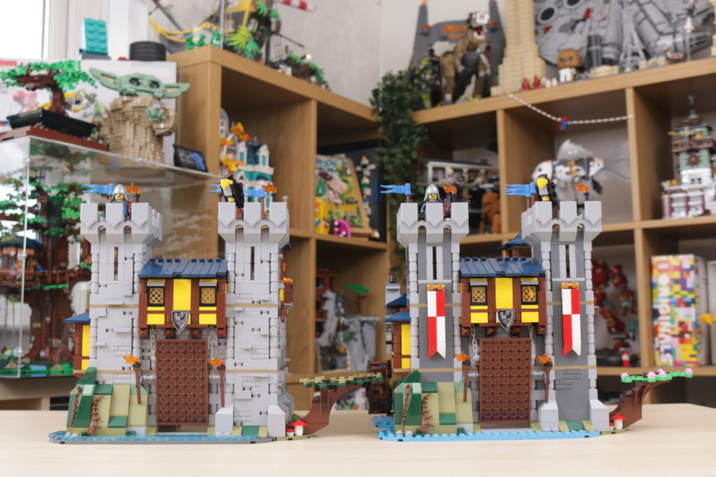 How to improve LEGO Creator 3 in 1 31120 Medieval Castle 50