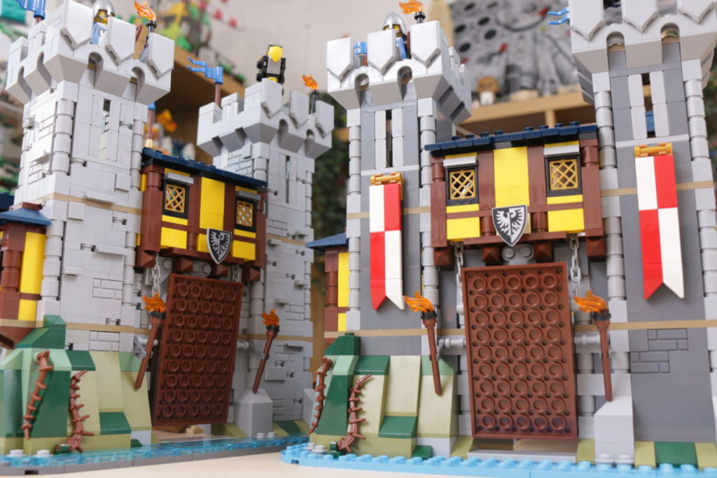 How to improve LEGO Creator 3 in 1 31120 Medieval Castle 51