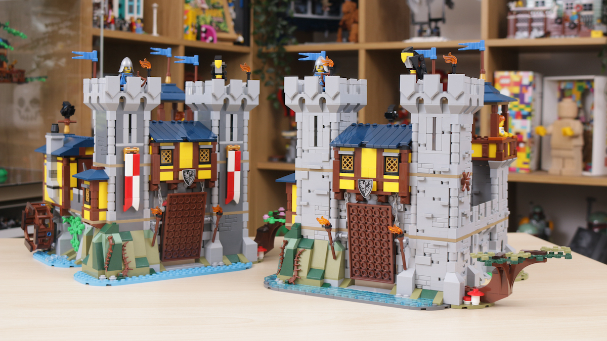 How To Improve LEGO Creator 3 In 1 31120 Medieval Castle Title 3