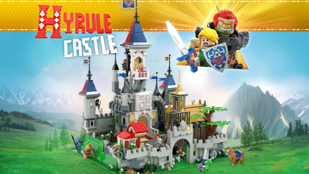Hyrule Castle The Legend Of Zelda LEGO Ideas 1
