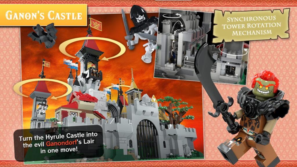 Hyrule Castle The Legend Of Zelda LEGO Ideas 2