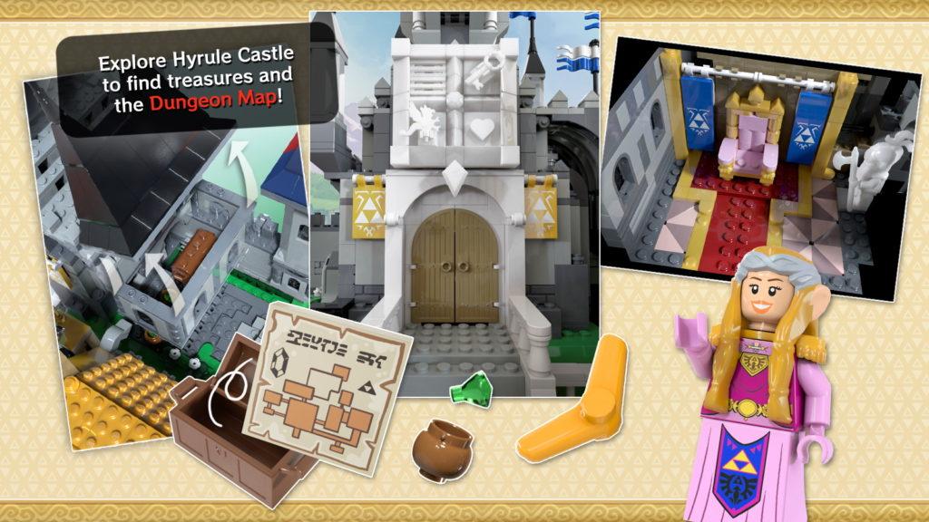 Hyrule Castle The Legend Of Zelda LEGO Ideas 4