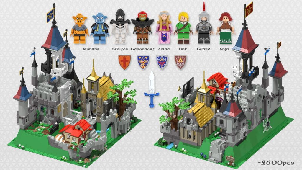 Hyrule Castle The Legend Of Zelda LEGO Ideas 5