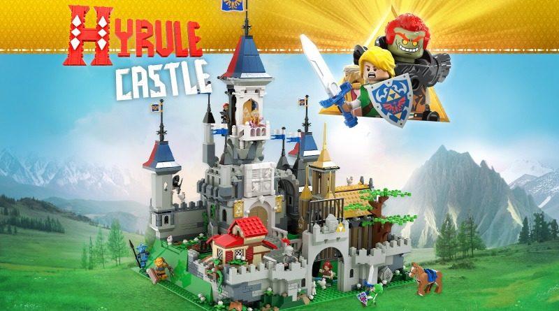 Hyrule Castle The Legend Of Zelda LEGO Ideas Featured 800x445