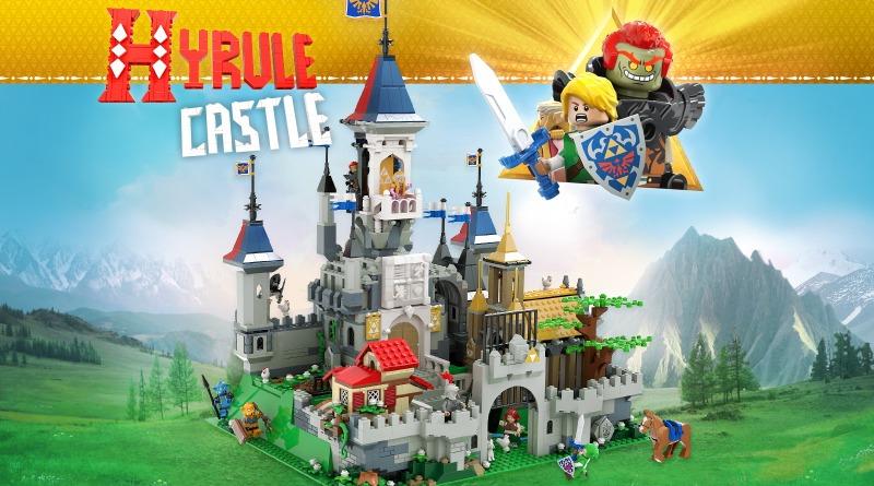 Hyrule Castle The Legend Of Zelda LEGO Ideas Featured