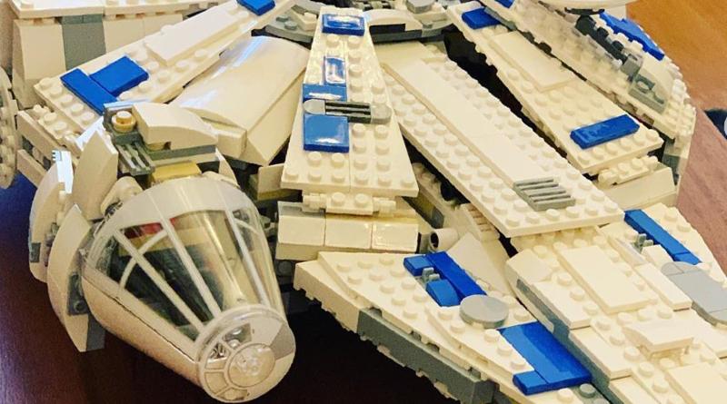 Jack Shepherd builds LEGO Millennium Falcon