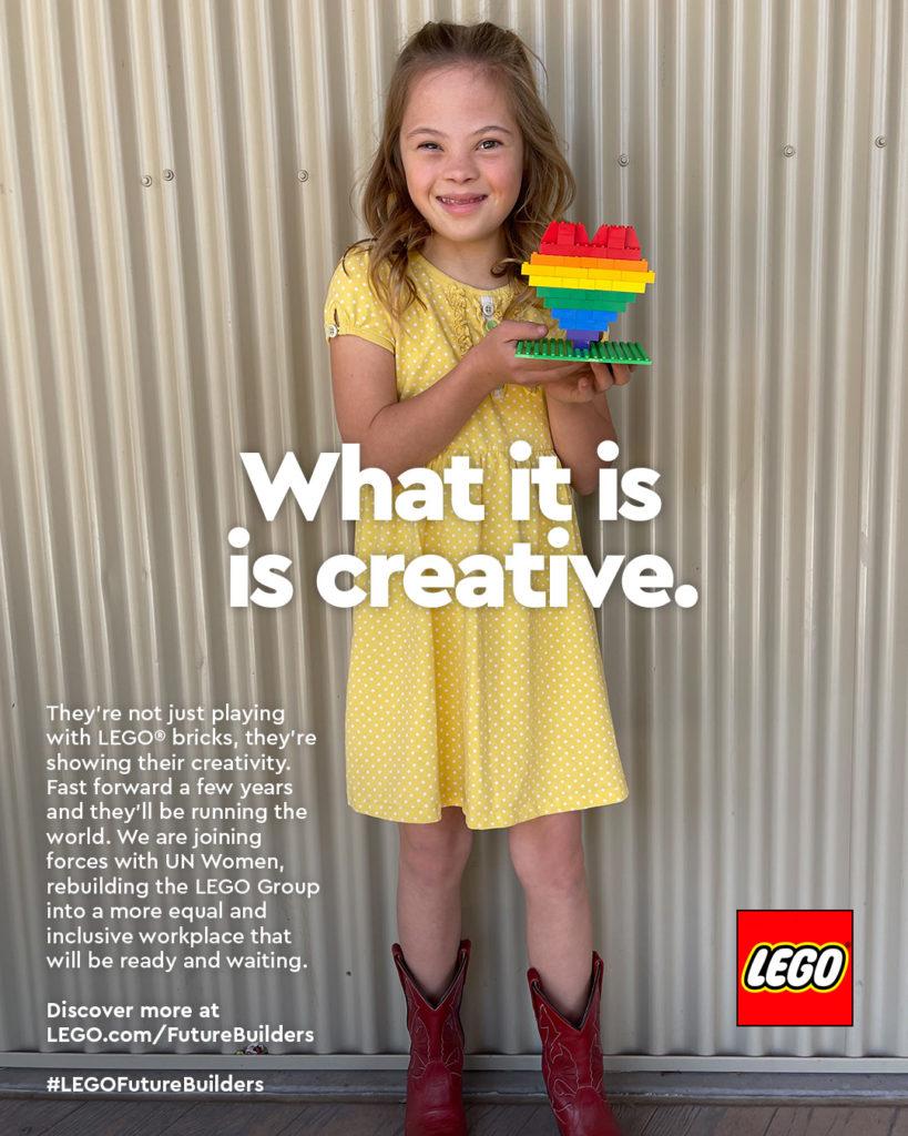International Womens Day LEGO Ad Campaign 1