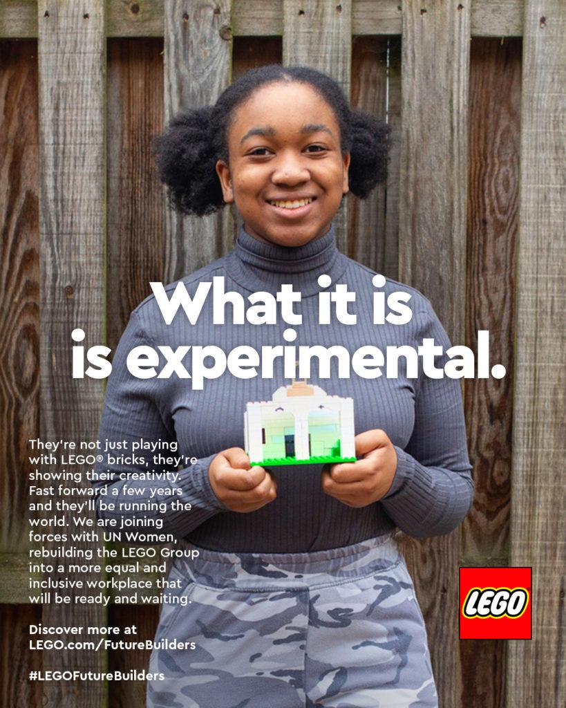 International Womens Day LEGO Ad Campaign 2