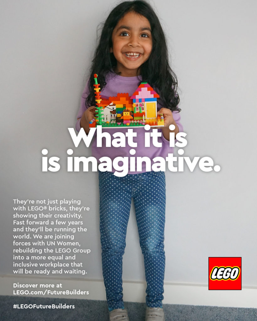 International Womens Day LEGO Ad Campaign 3