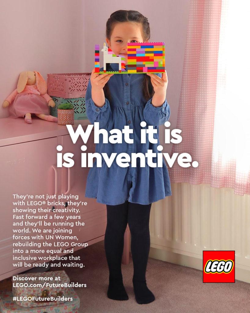 International Womens Day LEGO Ad Campaign 4