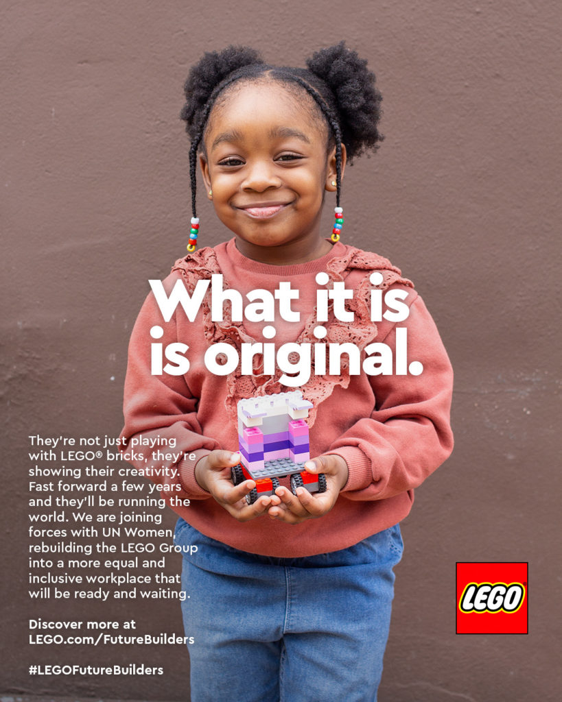 International Womens Day LEGO Ad Campaign 5