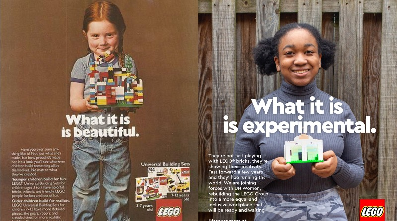 International Womens Day LEGO Ad Campaign Featured