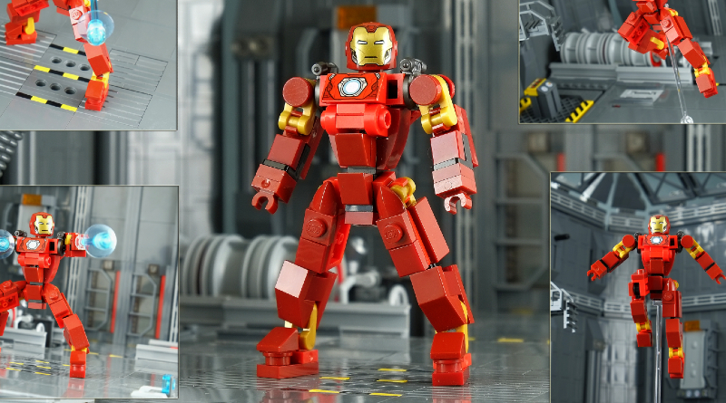 Iron Man Microbot Brick Pic Featured