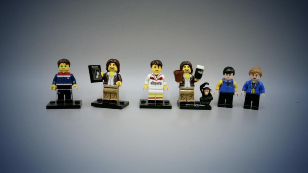 Johnny Vegas Taskmaster LEGO
