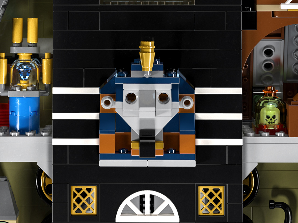 LEGO 10273 Haunted House Details 1