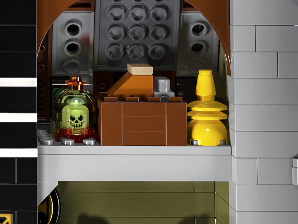 LEGO 10273 Haunted House Details 4