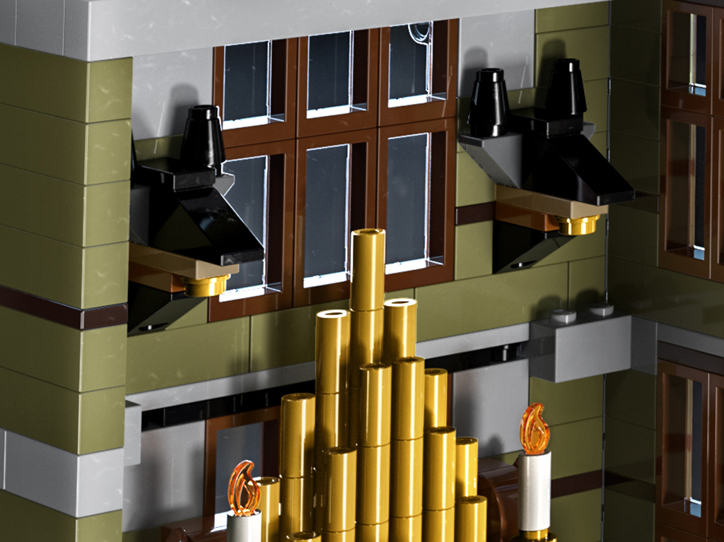 LEGO 10273 Haunted House Details 5