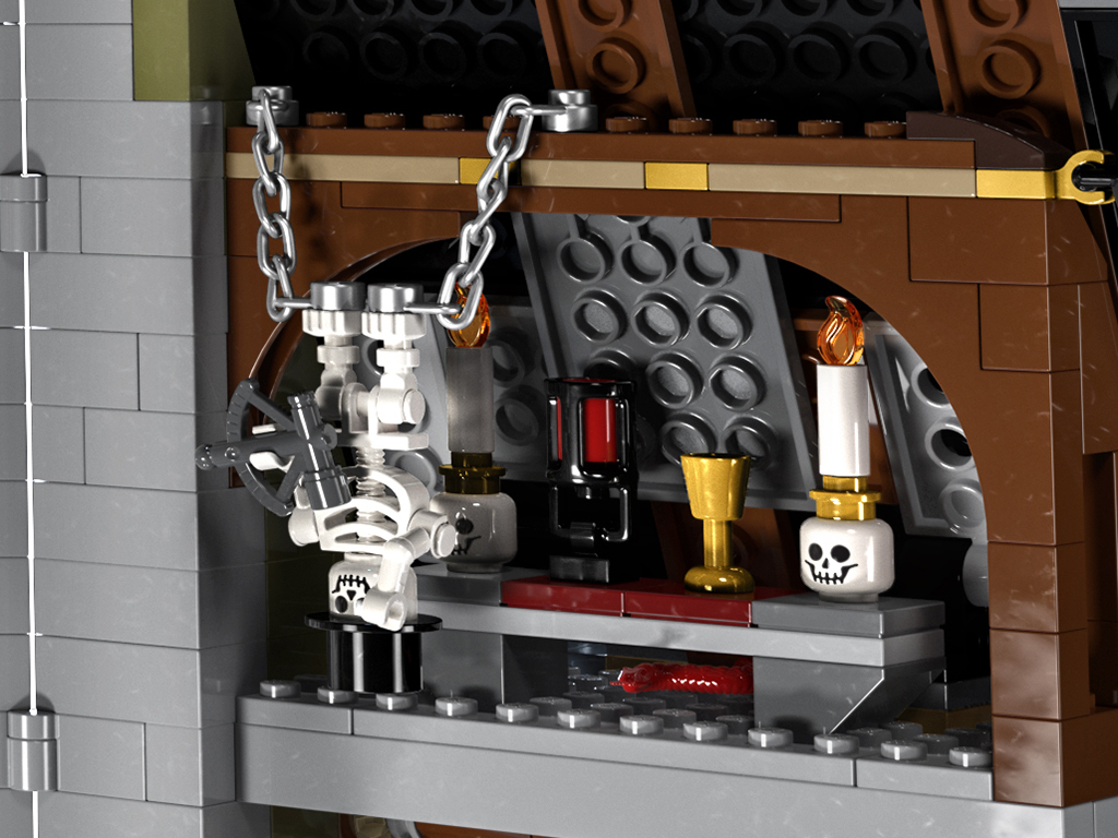LEGO 10273 Haunted House Details 6