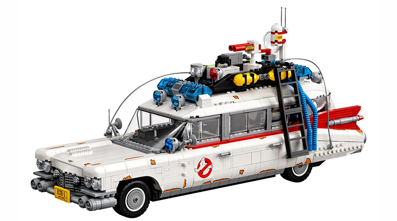 LEGO 10274 Ghostbusters Ecto 1 White Featured