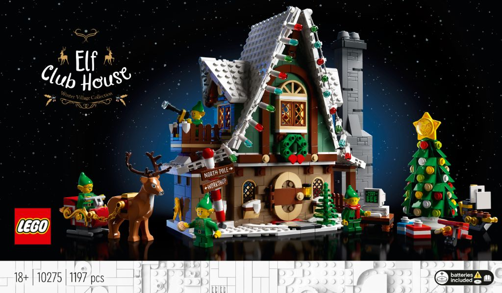 LEGO 10275 Elf Club House 12
