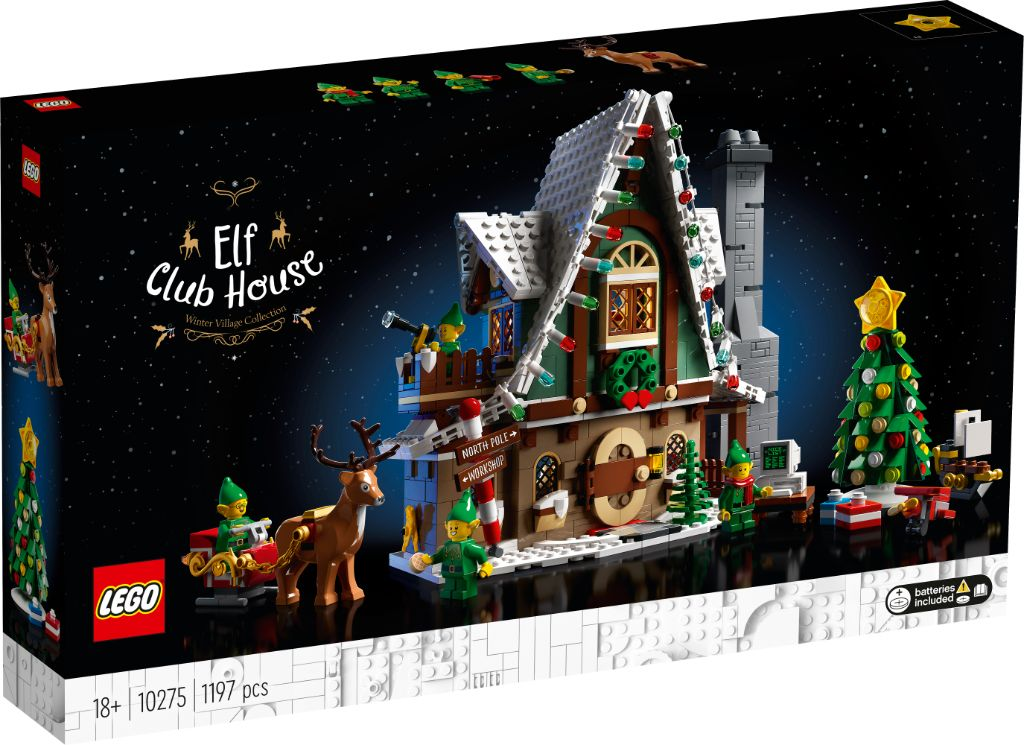 LEGO 10275 Elf Club House 8