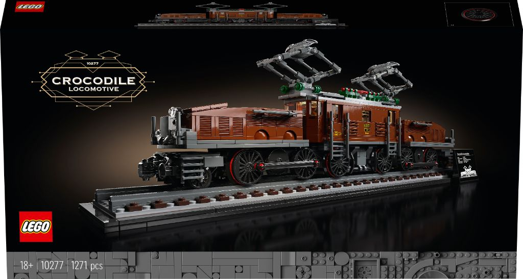 LEGO 10277 Crocodile Locomotive 13