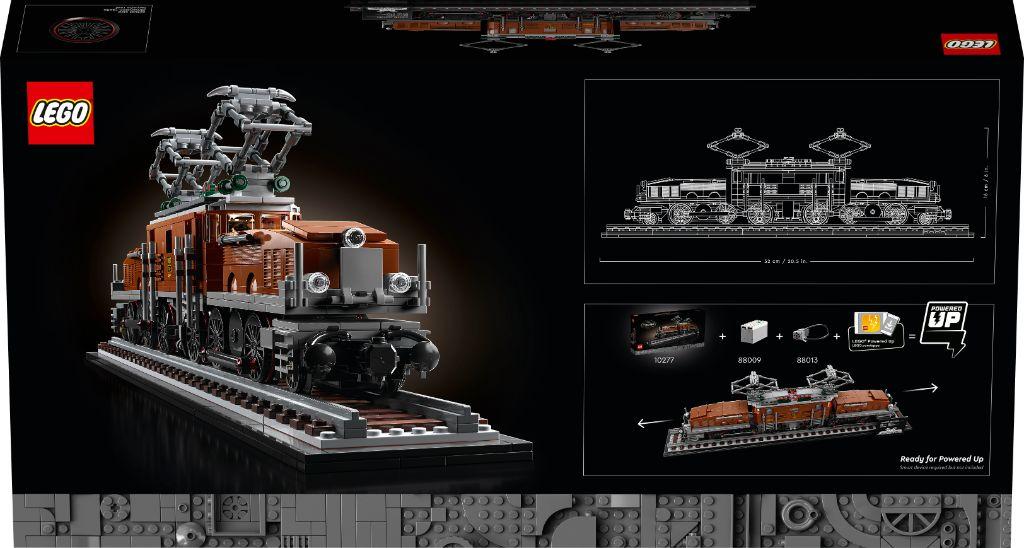 LEGO 10277 Crocodile Locomotive 18