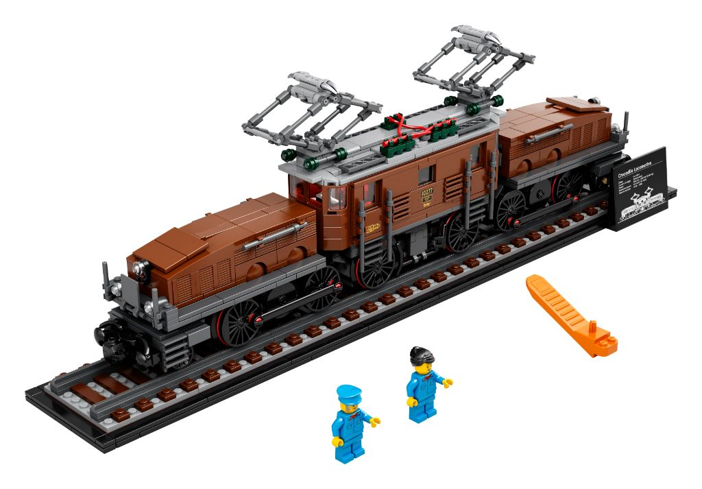 LEGO 10277 Crocodile Locomotive 44