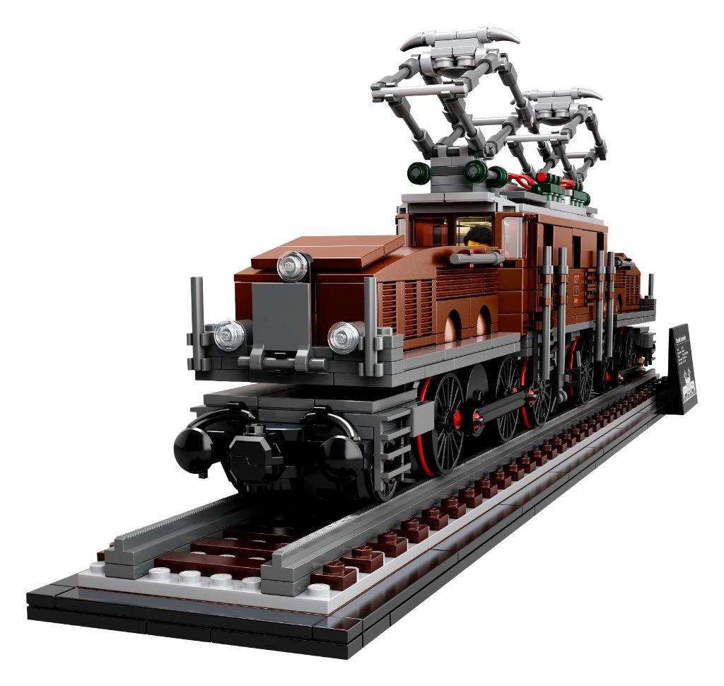 LEGO 10277 Crocodile Locomotive 45