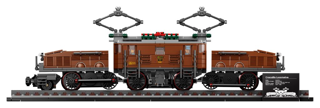 LEGO 10277 Crocodile Locomotive 5