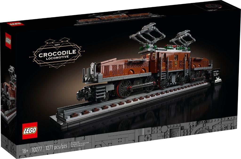 LEGO 10277 Crocodile Locomotive 8