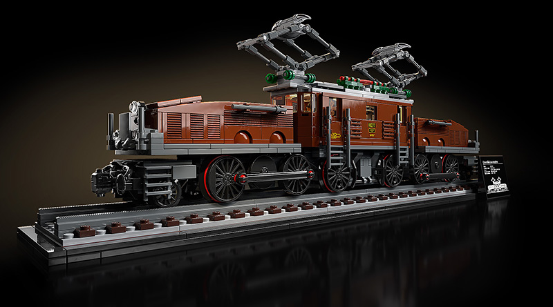 LEGO 10277 Crocodile Locomotive Featured 1