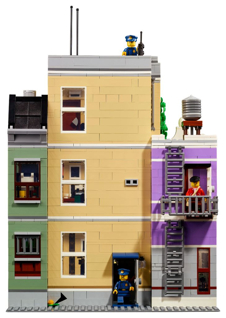 LEGO 10278 Modular Buildings Collection Police Station 14