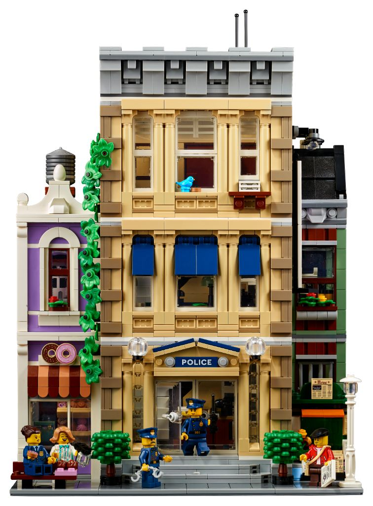 LEGO 10278 Modular Buildings Collection Police Station 15