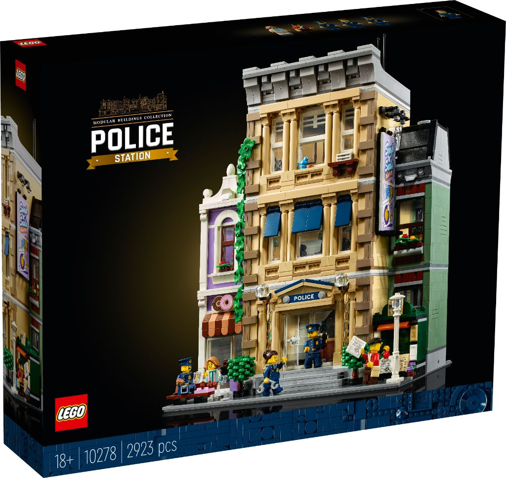 LEGO 10278 Modular Buildings Collection Police Station 16