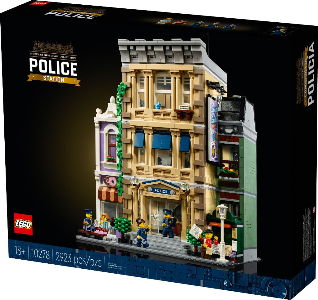 LEGO 10278 Modular Buildings Collection Police Station 19