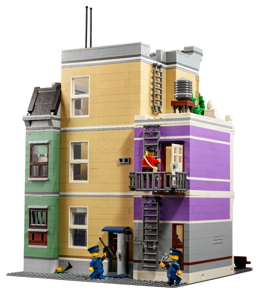 LEGO 10278 Modular Buildings Collection Police Station 2