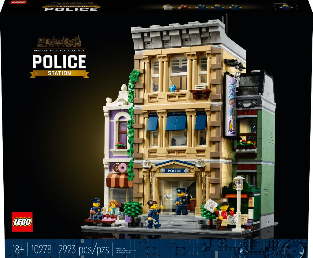 LEGO 10278 Modular Buildings Collection Police Station 23