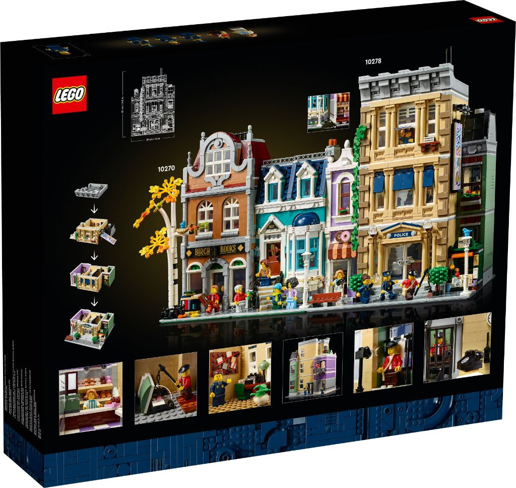 LEGO 10278 Modular Buildings Collection Police Station 24