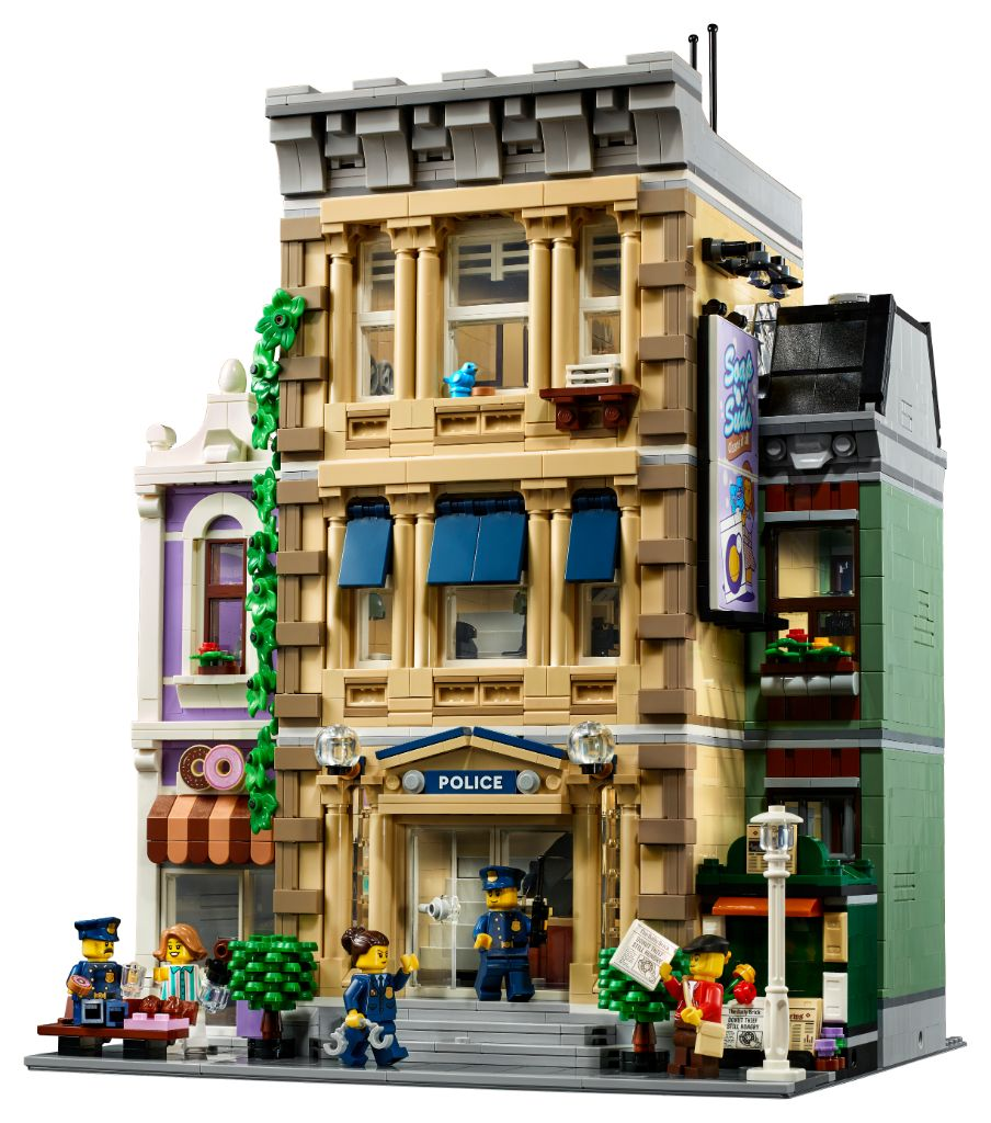 LEGO 10278 Modular Buildings Collection Police Station 28