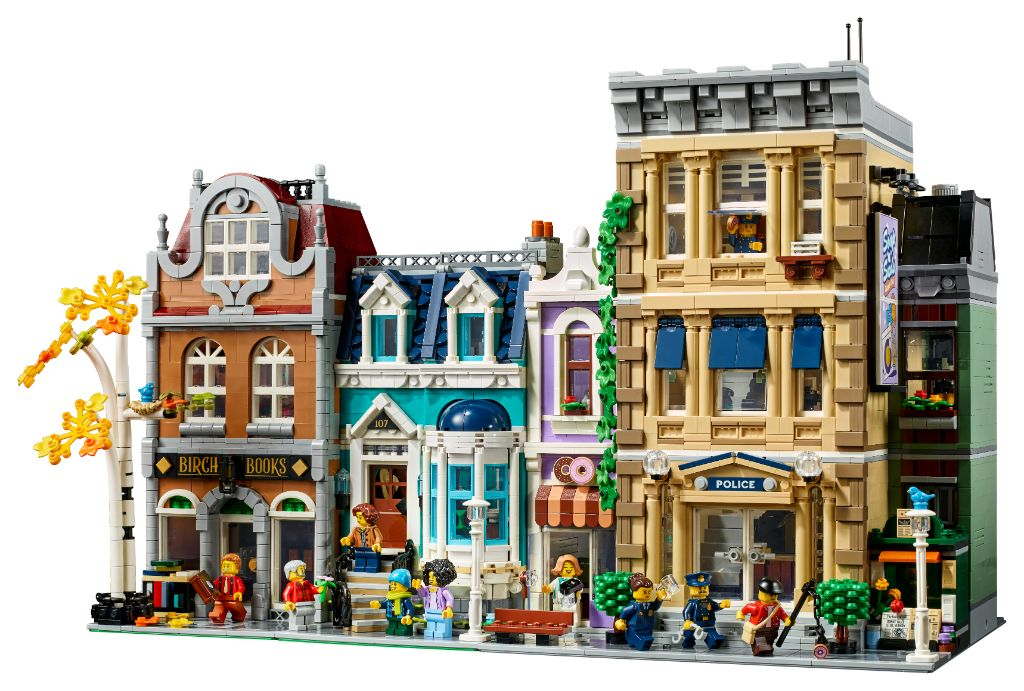 LEGO 10278 Modular Buildings Collection Police Station 3