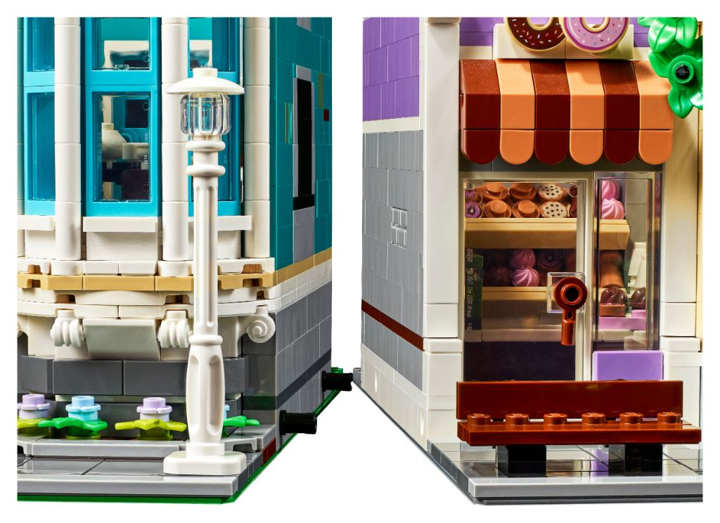 LEGO 10278 Modular Buildings Collection Police Station 4