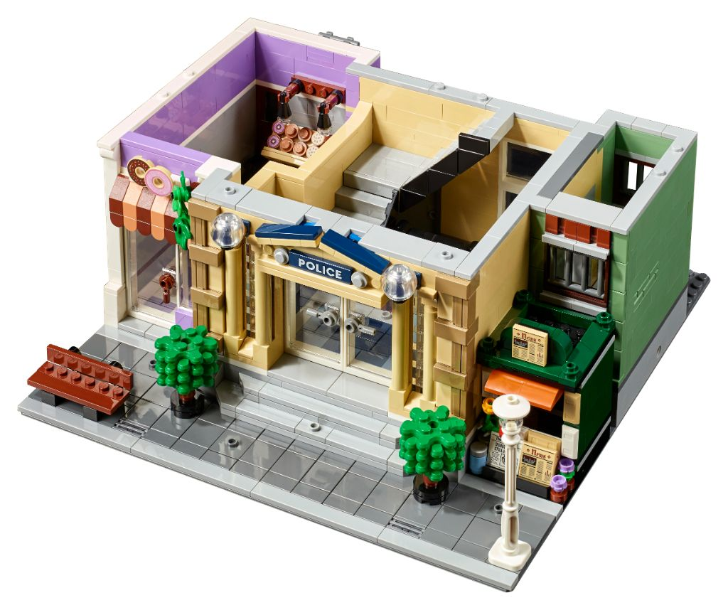 LEGO 10278 Modular Buildings Collection Police Station 5