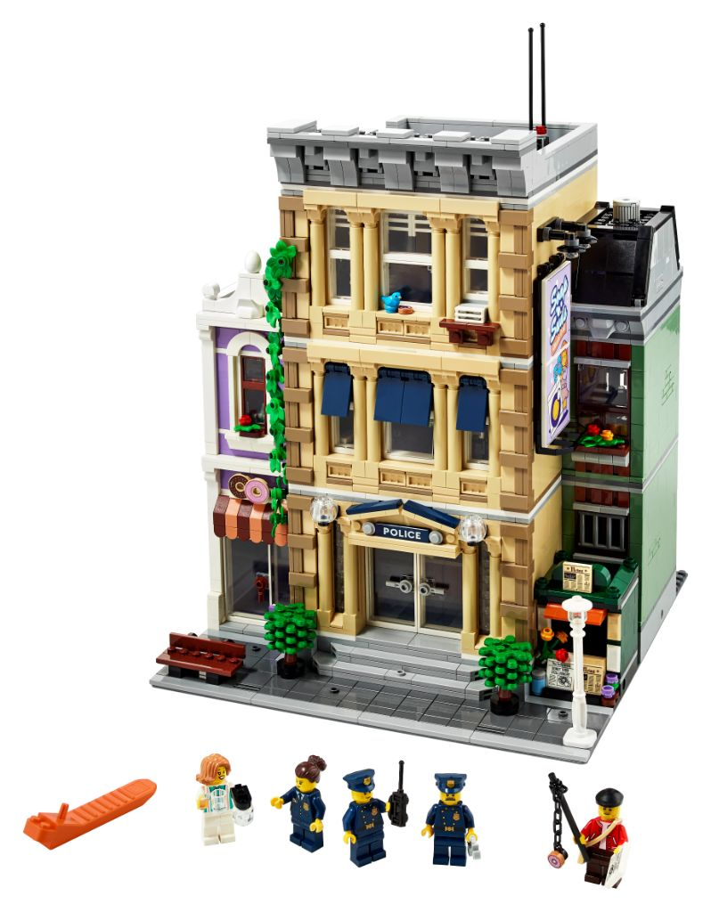 LEGO 10278 Modular Buildings Collection Police Station 56