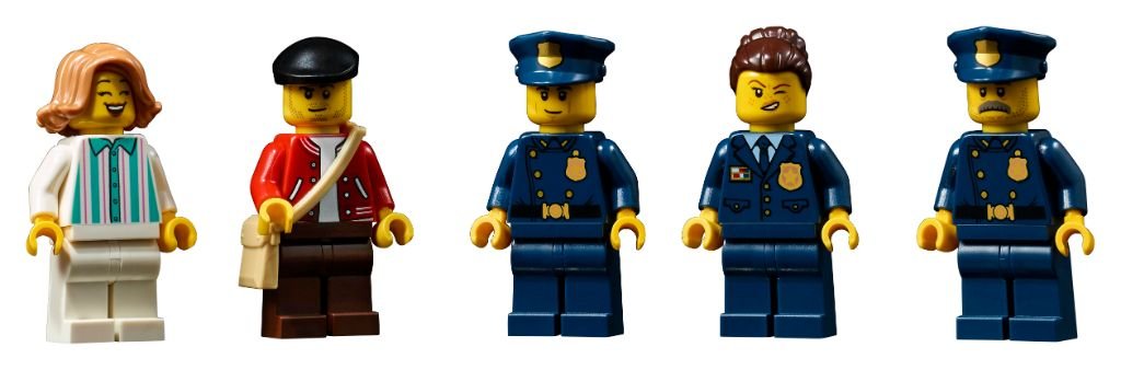 LEGO 10278 Modular Buildings Collection Police Station 57