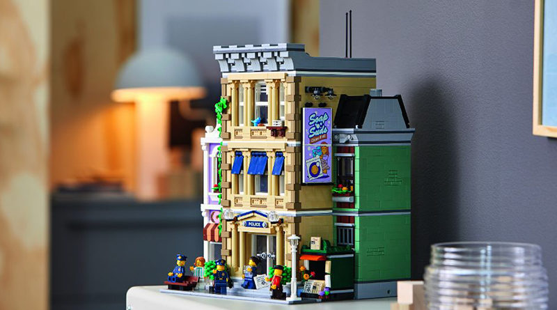 LEGO 10278 Modular Buildings Collection Police Station Featured 800x445