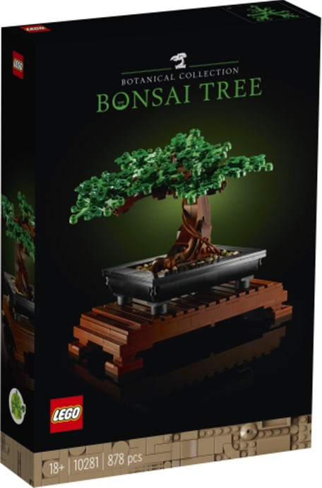 LEGO 10281 Bonsai Tree 1