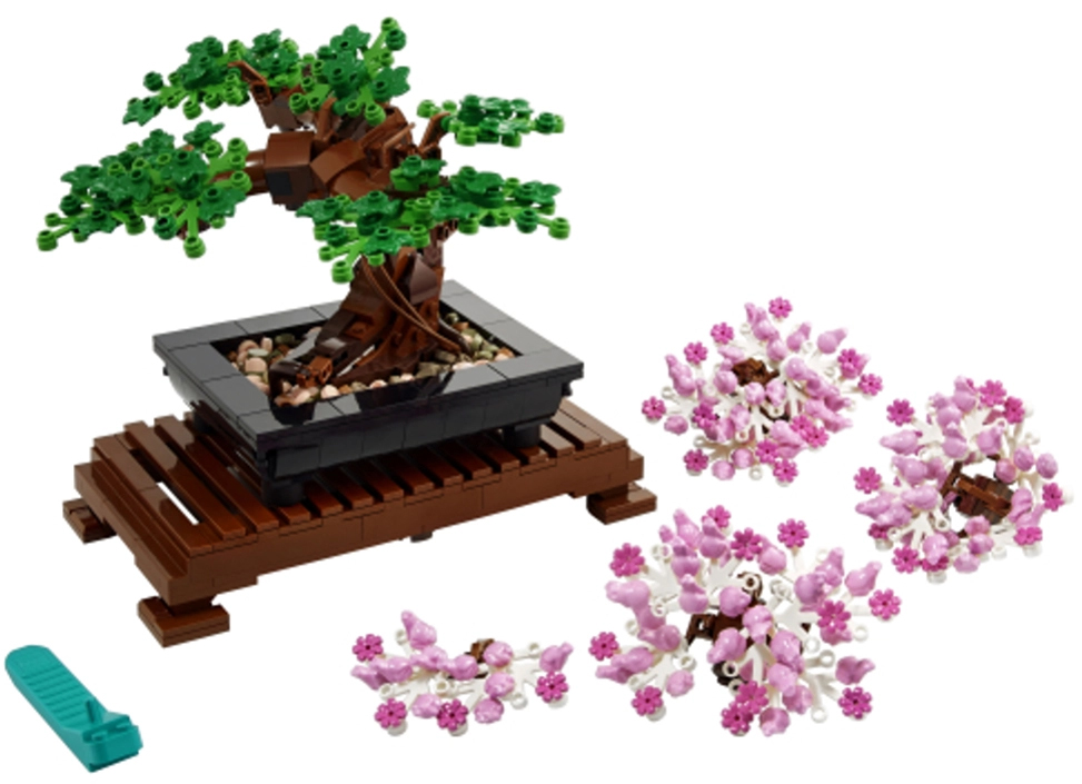 LEGO 10281 Bonsai Tree 3